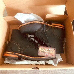 Men's Black Leather Casual Boots